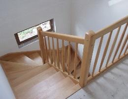 Schodiště dřevostaveb Taurushaus