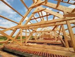 Střešní konstrukce dřevostaveb Taurushaus