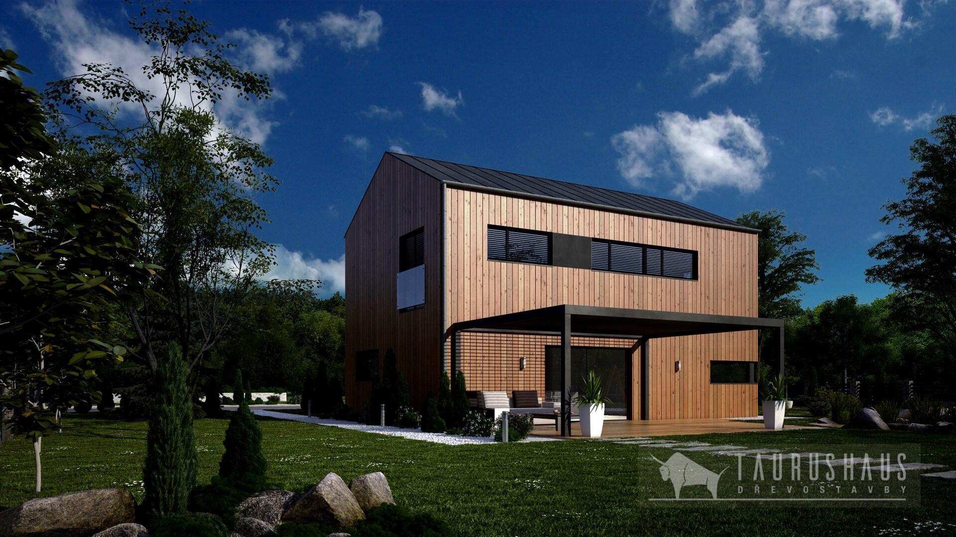 Calisie - dřevostavba od firmy Taurushaus