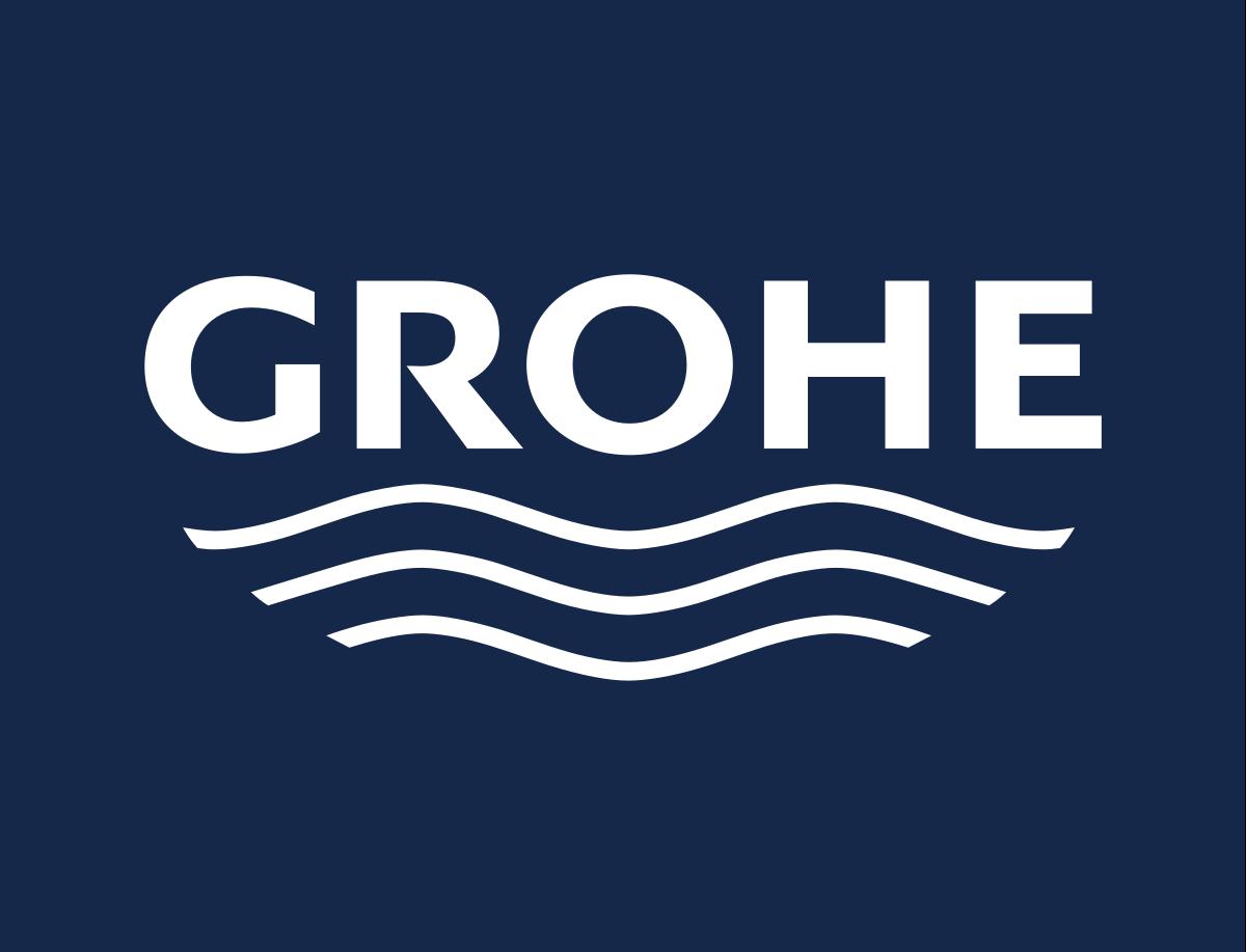 Logo Grohe - světového výrobce sanitárního vybavení